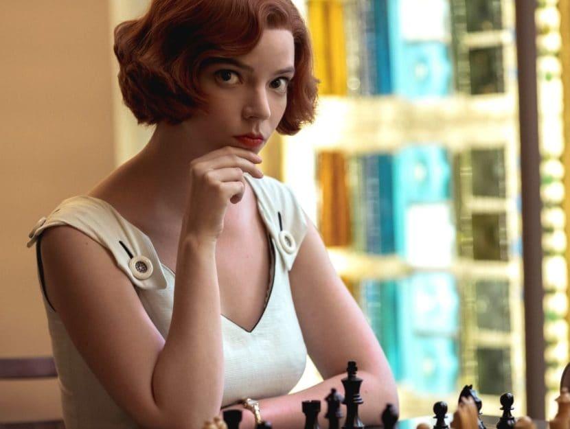 serie tv brevi la regina degli scacchi