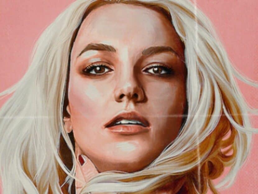 La locandina di Britney contro Spears